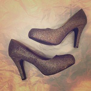 Fun glittery Madden Girl heels